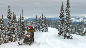 Swan Mountain Snowmobile Picture for in Text