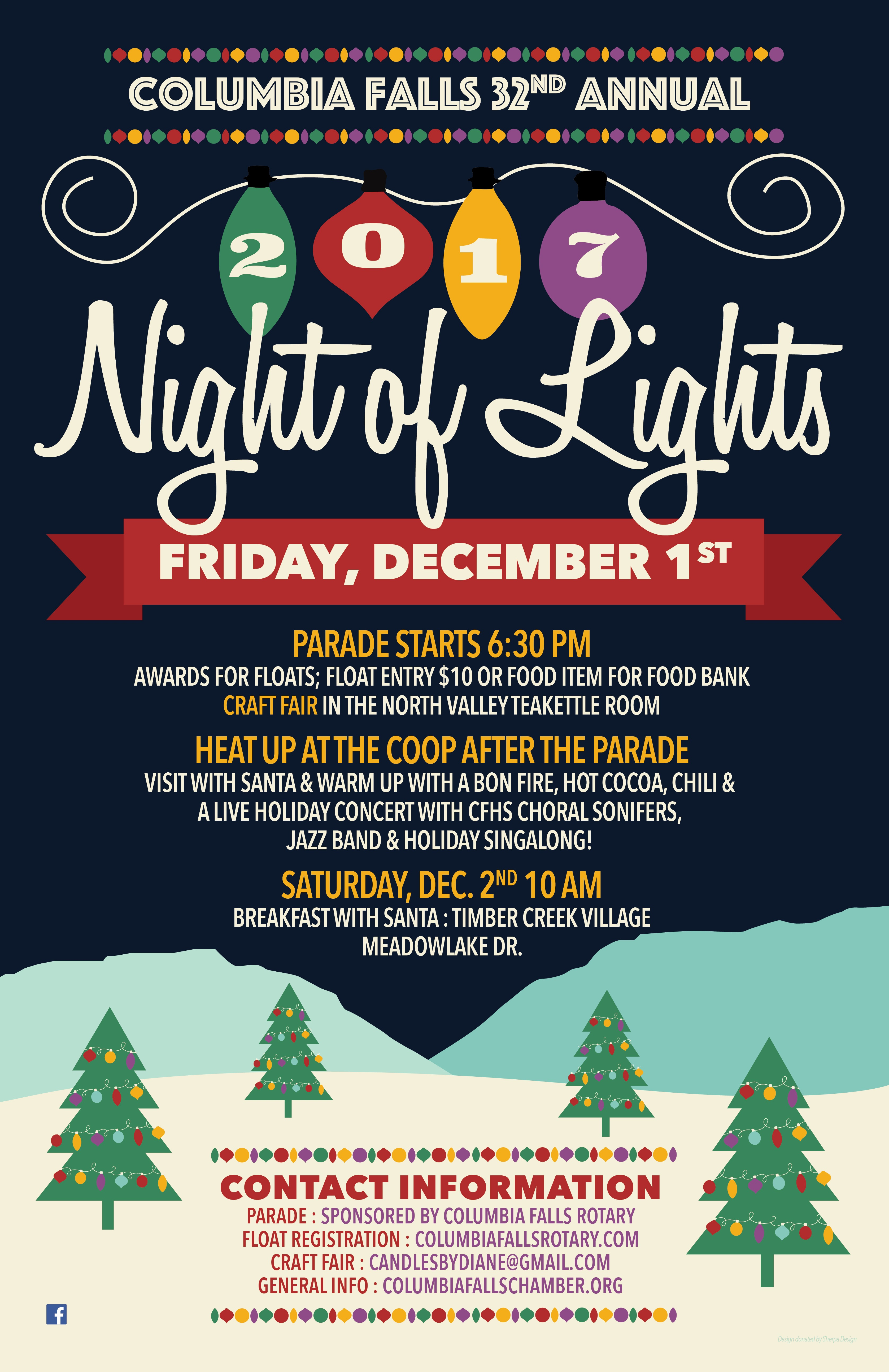 Night of Lights 2017 - Columbia Falls Area Chamber of Commerce on craft fair patterns, craft fair application, craft fair flyer, craft fair registration form, craft vendors wanted, craft fair contract, craft fair mailing list, craft fair shopping cart, craft fair posters, craft fair products, craft fair tips, craft show crafters, craft fair receipt, craft fair pricing, craft vendor application template,