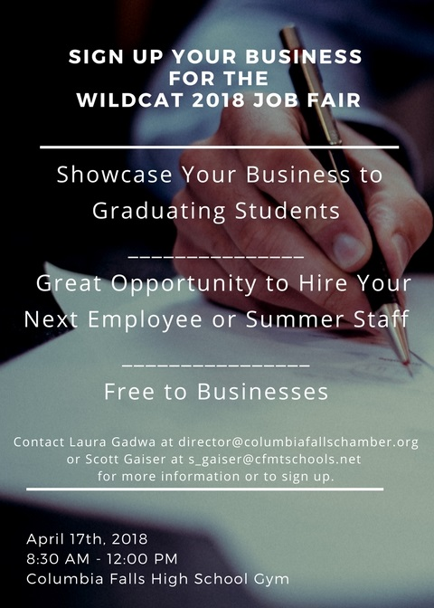 Wildcat 2018 Job Fair Flyer
