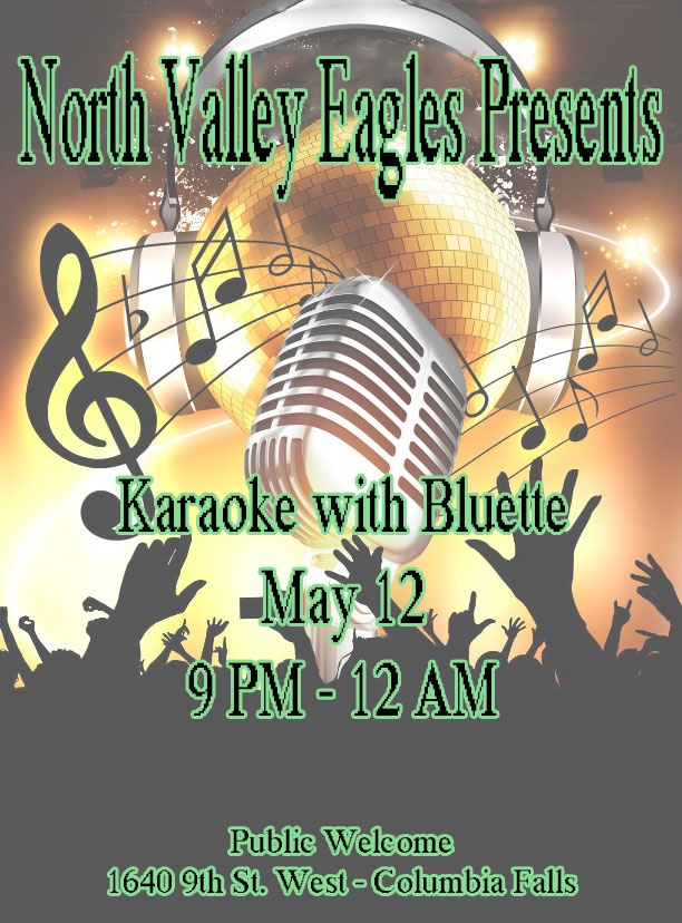Karaoke with Bluette - Columbia Falls Area Chamber of Commerce