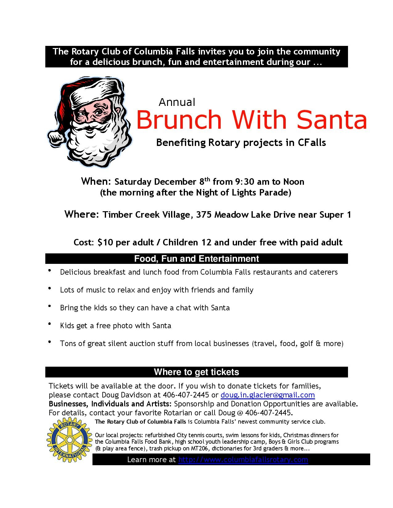 2018 Brunch With Santa