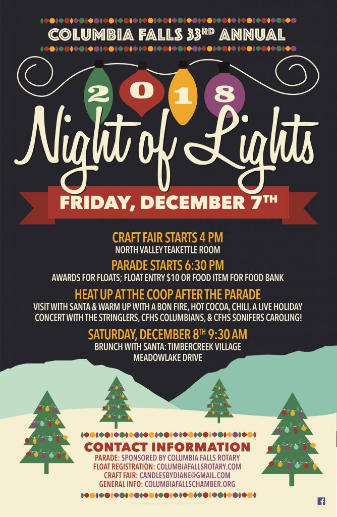 2018 Night of Lights Poster