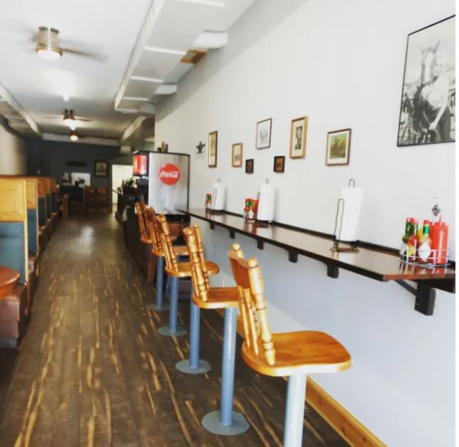 Outlaw Diner Interior