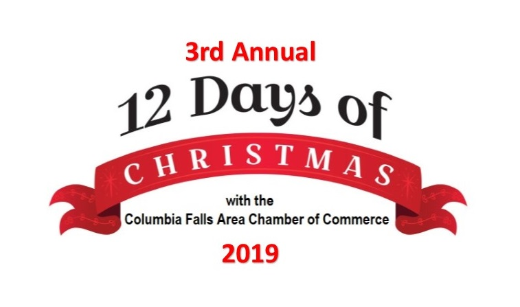 Days To Christmas.12 Days Of Christmas Fundraiser With The Columbia Falls Area